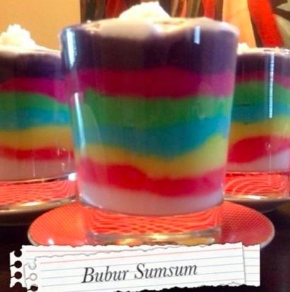 Resep Bubur Sumsum Warna Warni