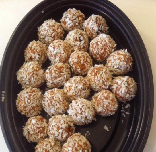 Resep Carrot Cake Balls