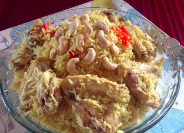 Resep Nasi Biryani & Chicken