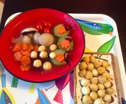 Resep Sop Kacang Merah & Bola Bola Tahu
