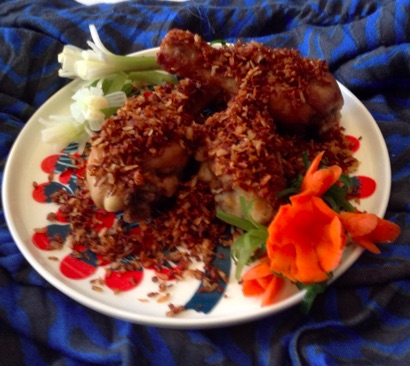 Resep Ayam Goreng Serundeng