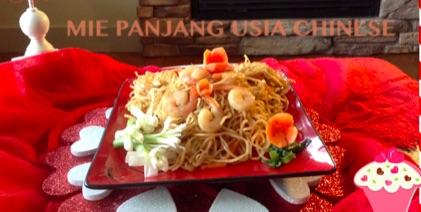Resep Mie Panjang Usia Chinese