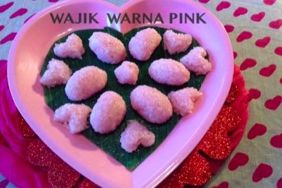 Resep Wajik Warna Pink