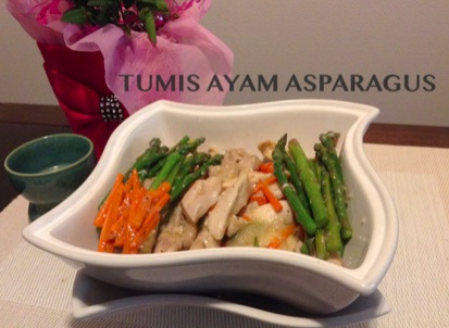 Resep Tumis Ayam Asparagus