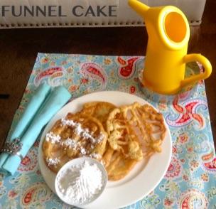 Resep Funnel Cake