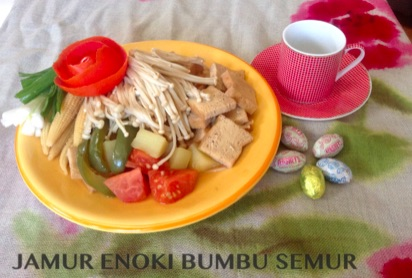 Resep Jamur Enoki Bumbu Semur