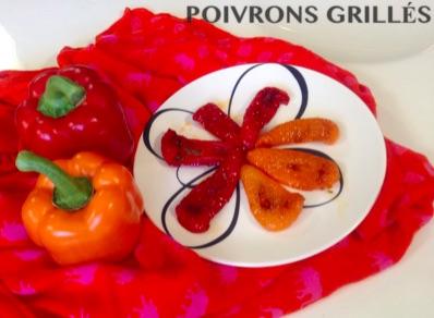 Resep Poivrons Grillés