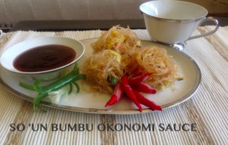 Resep So'un Bumbu Okonomi Sauce