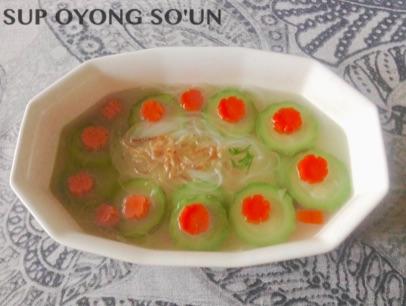 Resep Sup Oyong So'un