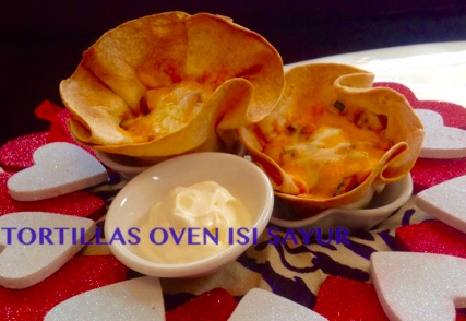 Tortillas Oven isi Sayur