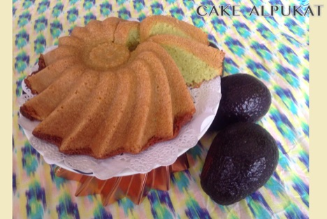 Resep Cake Alpukat