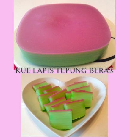 Resep Kue Lapis Tepung Beras