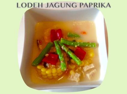 Resep Lodeh Jagung Paprika