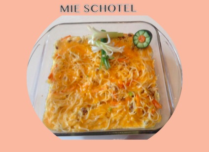 Resep Mie Schotel