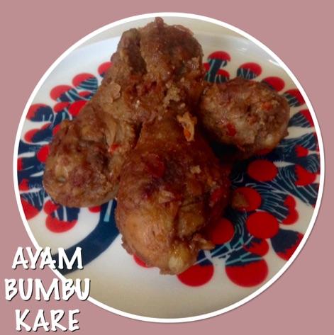 Resep Ayam Bumbu Kare