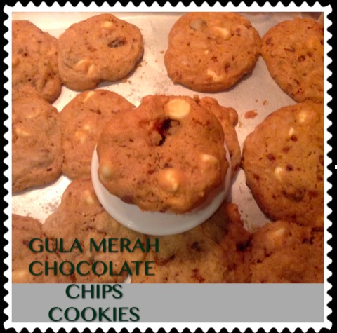 Resep Gula Merah Chocolate Chip Cookies