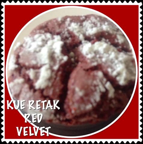 Resep Kue Retak Red Velvet