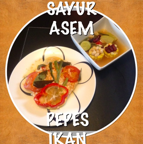 Indonesian Wrapped Fish with Asem Soup Recipe