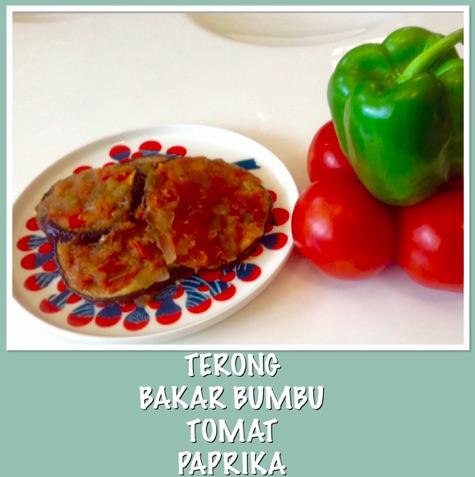 Resep Terong Bakar Bumbu Tomat Paprika