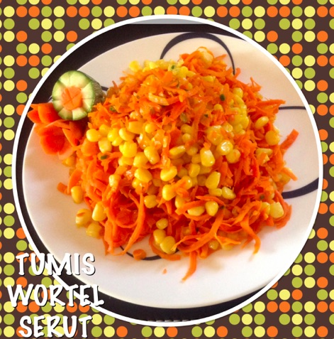 Indonesian Stir Fried Grated Carrots Recipe