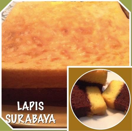 Indonesian Surabaya Layer Cake Recipe