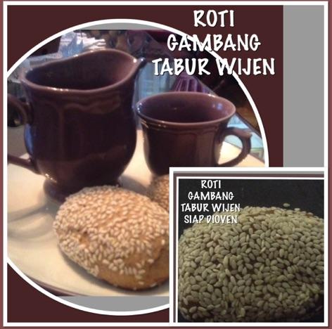 Indonesian Gambang Sesame Bread Recipe