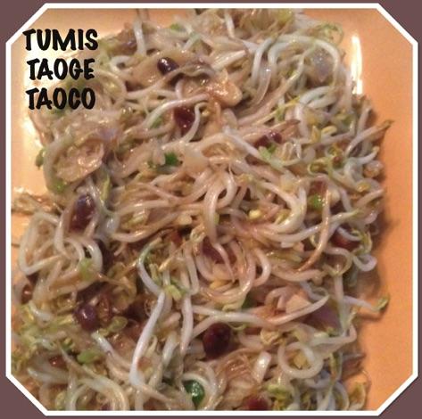 Resep Tumis Taoge Taoco