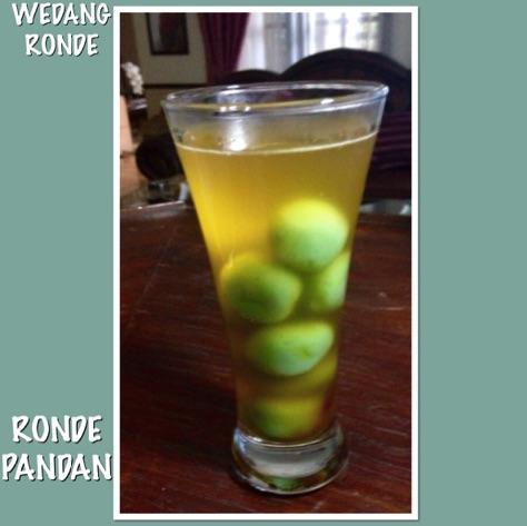 Resep Wedang Ronde