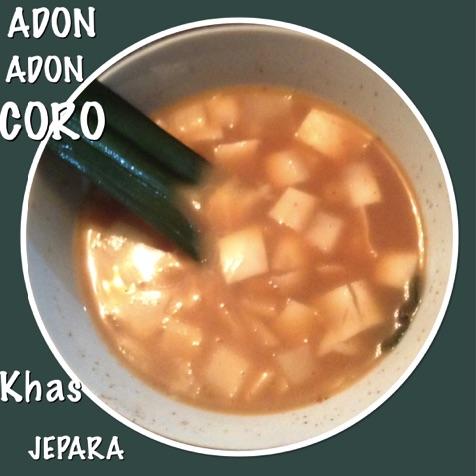 Resep Adon Adon Coro Khas Jepara
