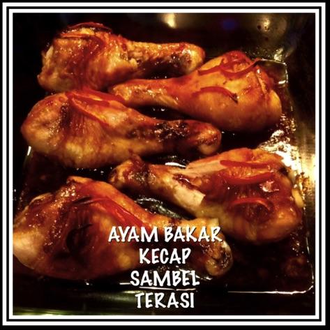 Resep Ayam Bakar Kecap Sambel Terasi