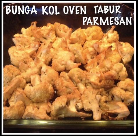 Resep Bunga Kol Oven Tabur Parmesan