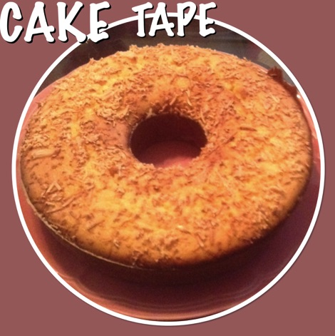 Resep Cake Tape Singkong