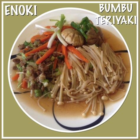 Resep Enoki Bumbu Teriyaki