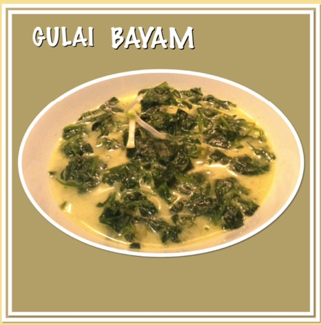 Resep Gulai Bayam