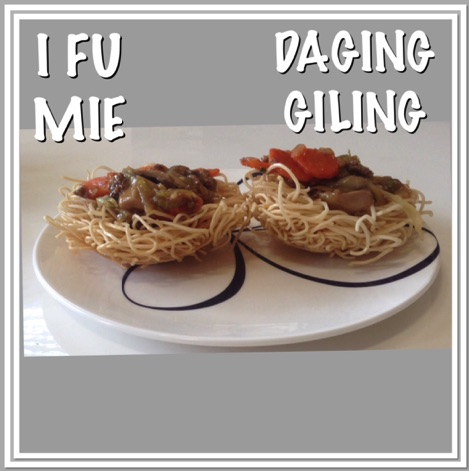 Resep I Fu Mie Daging Giling