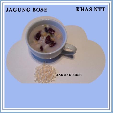 Resep Jagung Bose Khas NTT