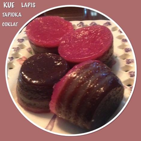 Resep Kue Lapis Tapioka Coklat