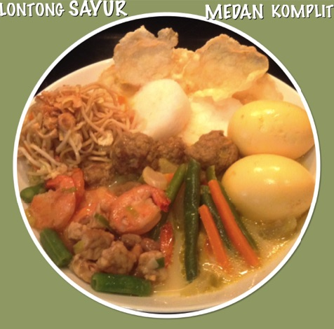 Resep Lontong Sayur Medan Komplit