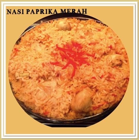 Resep Nasi Paprika Merah