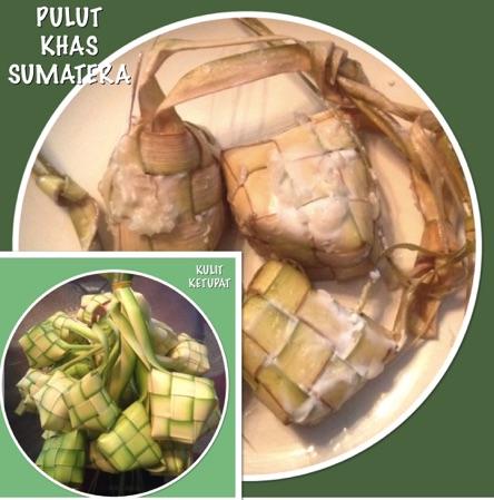 Resep Ketupat Ketan /  Pulut Khas Sumatera