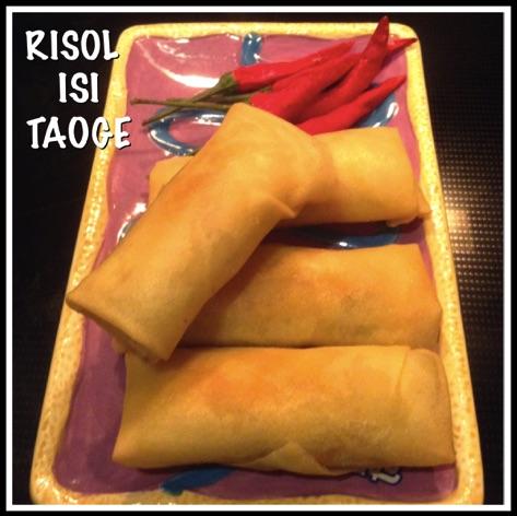 Resep Risol Isi Taoge