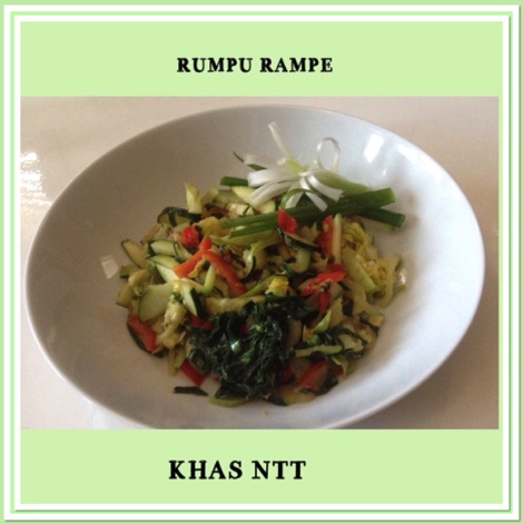 Resep Rumpe Rampe Khas NTT