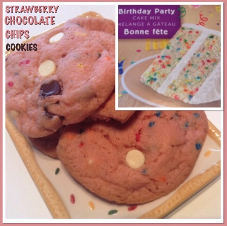 Resep Strawberry Chocolate Chips Cookies