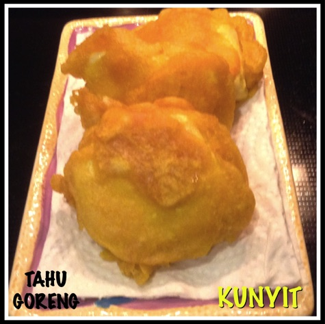 Resep Tahu Kunyit (Tahu Kuning)
