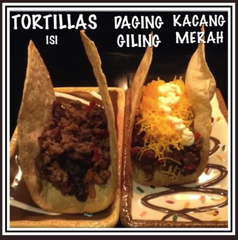Resep Tortillas Isi Daging Giling Kacang Merah