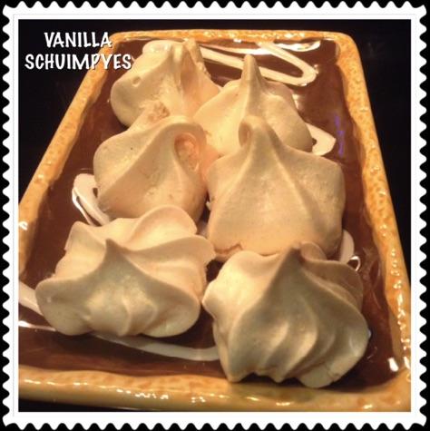 Resep Vanilla Schuimpyes