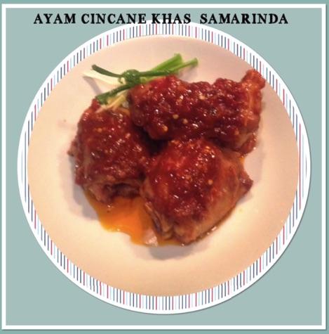 Resep Ayam Cincane Khas Samarinda