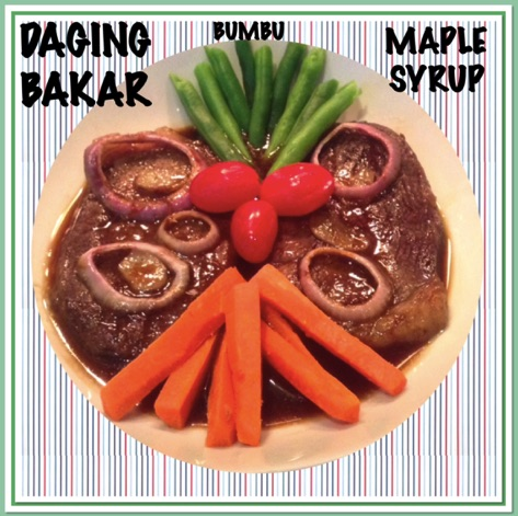 Resep Daging Bakar Bumbu Maple Syrup