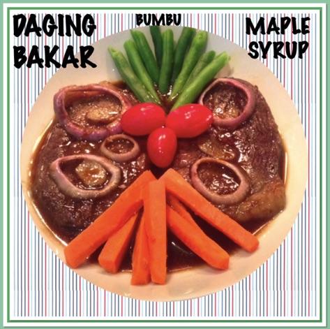 Resep Daging Bakar Bumbu Maple Syrup