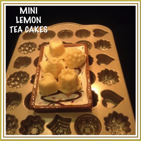 Resep Mini Lemon Tea Cakes